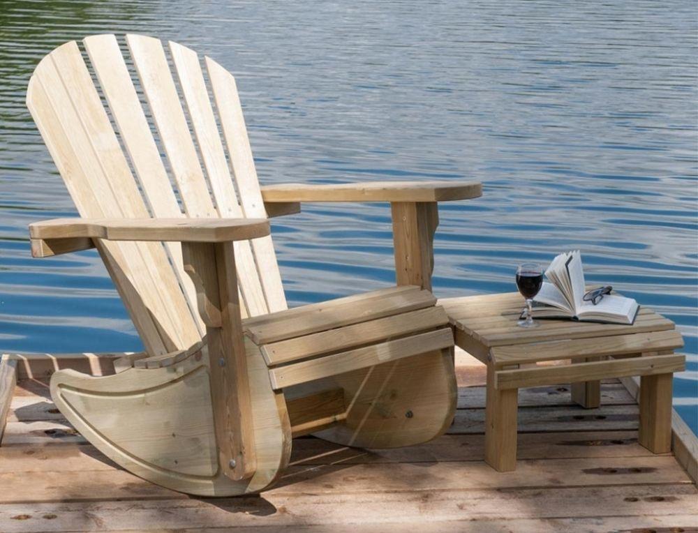 Pepe Adirondack Rocking Chair