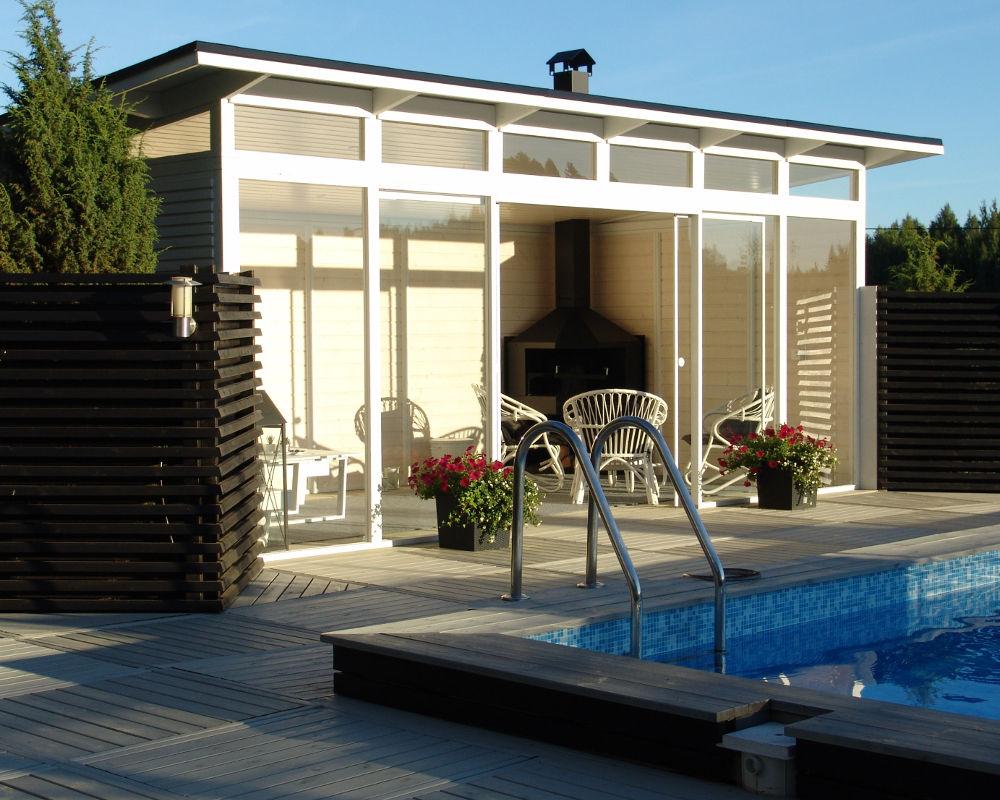 Glass Pavilion 3 x 6 m