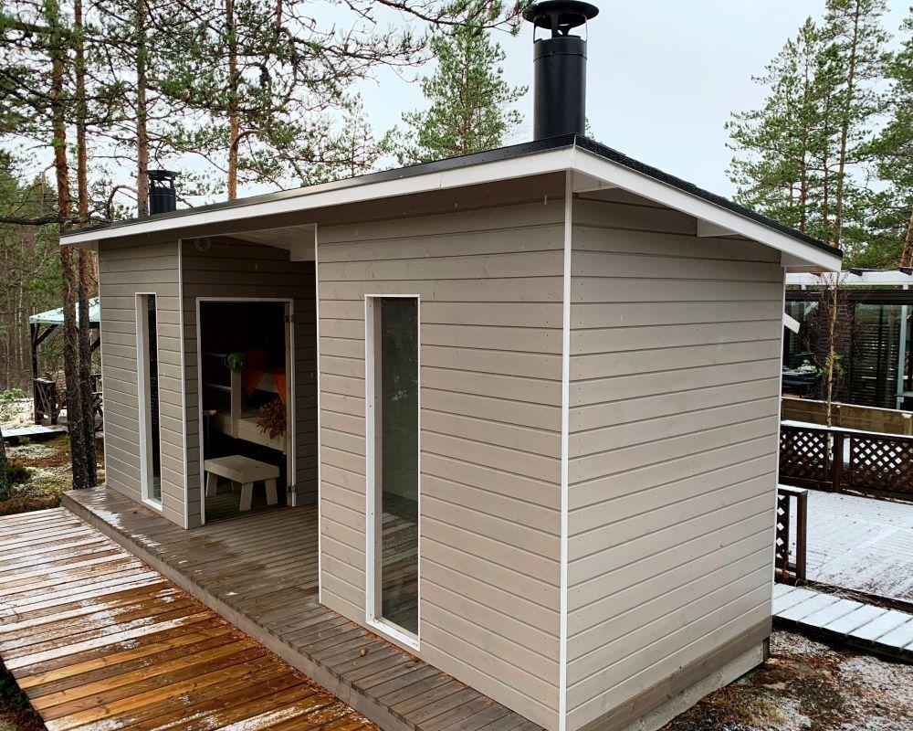 Suomi Sauna, double model