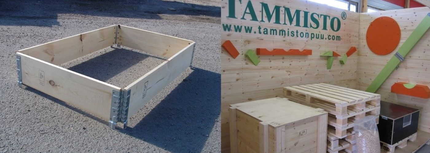 Pallet collars and protective frames