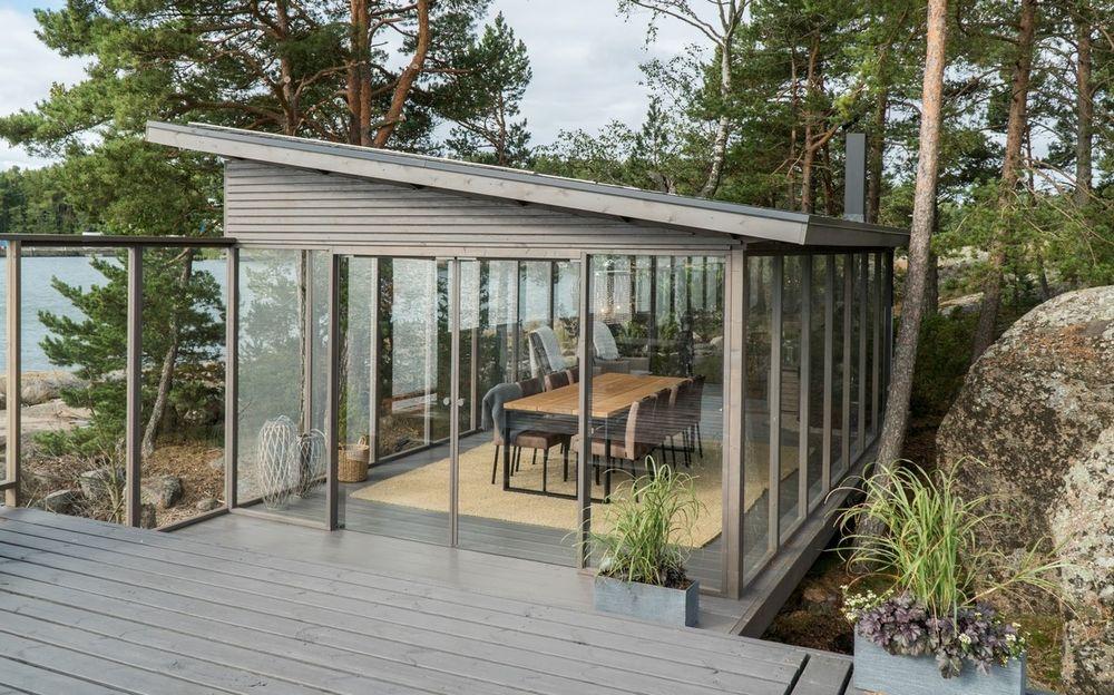 Glass Pavilion 4 x 7 m
