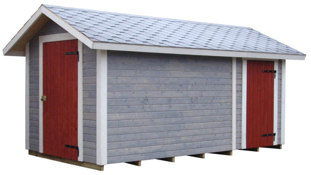 T55 Shed with extension