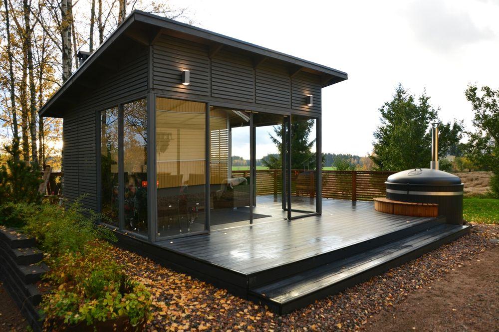Glass Pavilion 4 x 4 m
