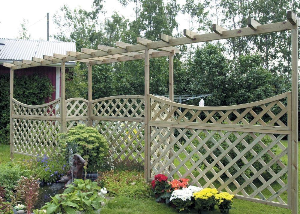 Garden fences and pergolas