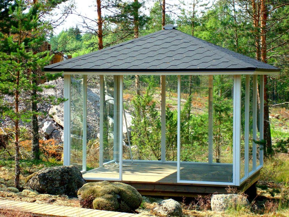 Glass Pavilion 3 x 3 m